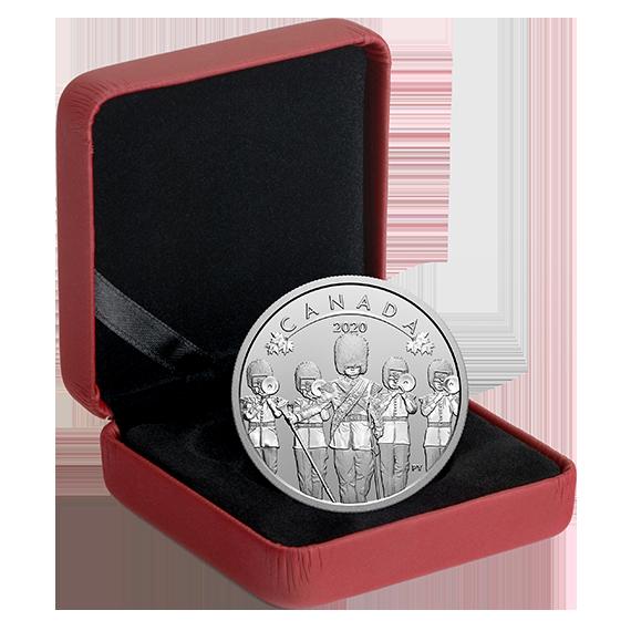 Канада монета 10 долларов Смена Караула, подарочная упаковка