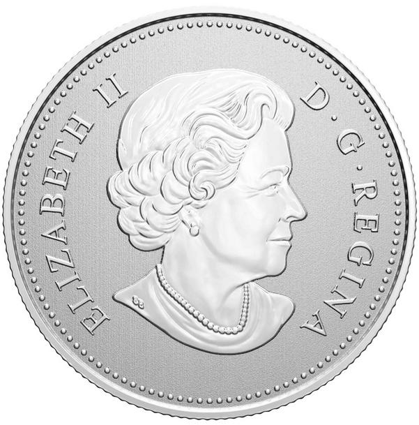 Канада монета 5 долларов Монета Памяти, аверс