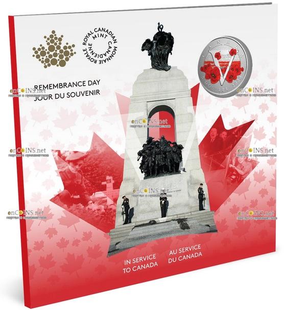 Канада монета 5 долларов Монета Памяти, подарочная упаковка