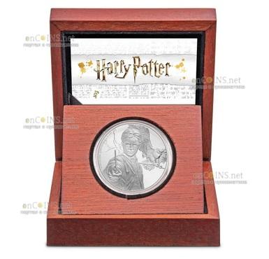 Ниуэ монета 2 доллара Гарри Поттер, подарочная упаковка