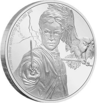 Ниуэ монета 2 доллара Гарри Поттер, реверс