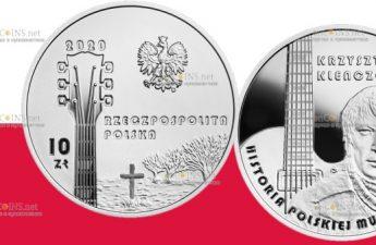 Польша монета 10 злотых Кшиштоф Кленчон