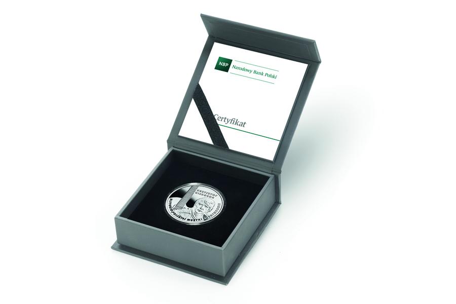 Польша монета 10 злотых Кшиштоф Кленчон, подарочная упаковка