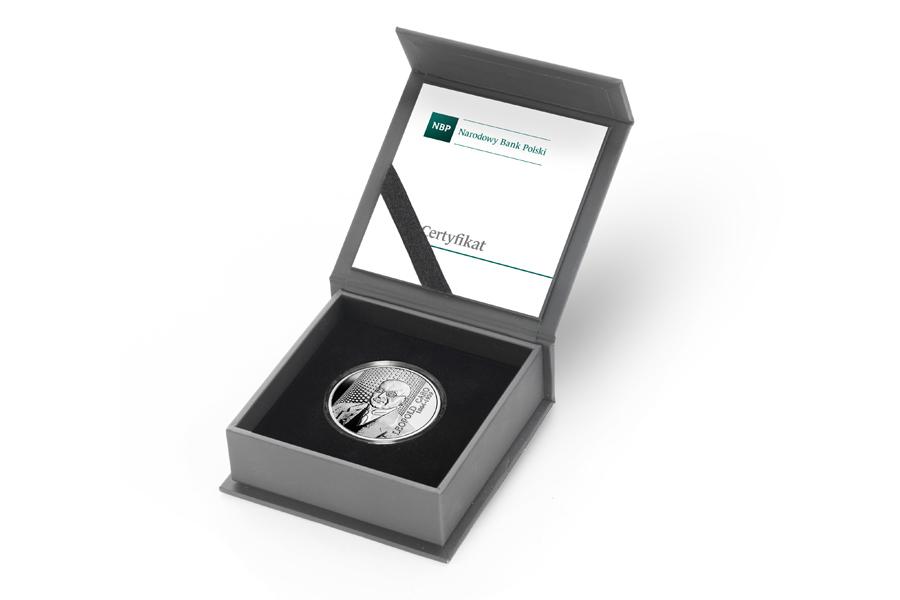 Польша монета 10 злотых Леопольд Каро, подарочная упаковка