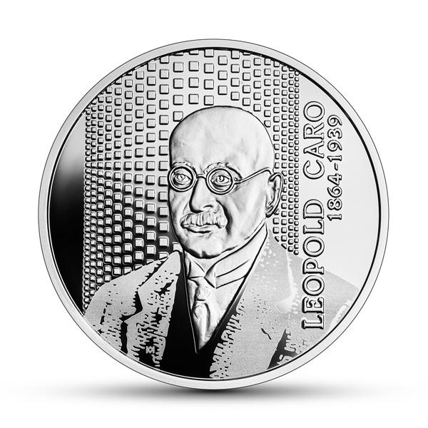 Польша монета 10 злотых Леопольд Каро, реверс