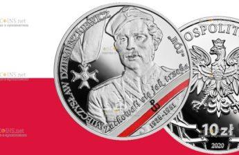 Польша монета 10 злотых Мечислав Дземешкевич