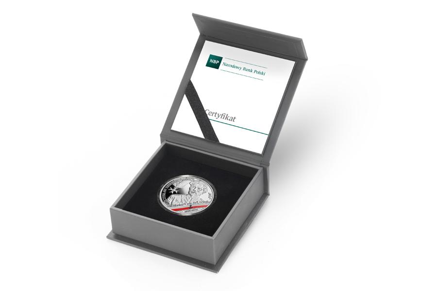 Польша монета 10 злотых Мечислав Дземешкевич, подарочная упаковка