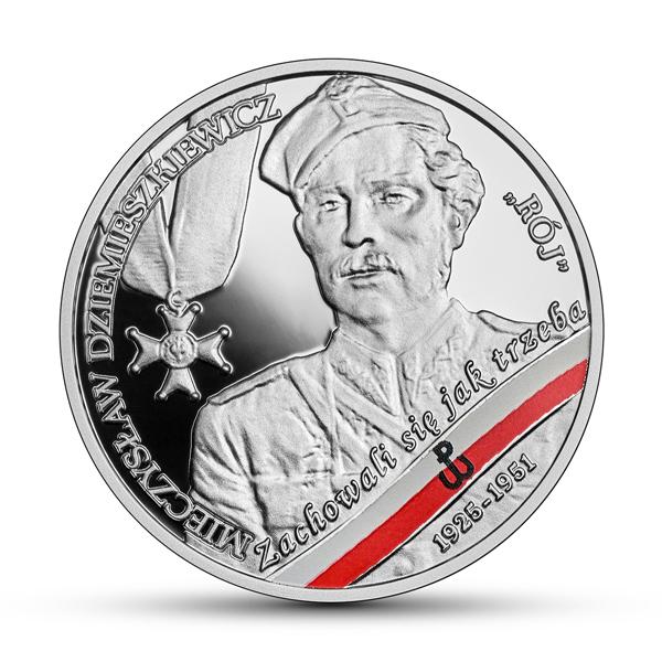 Польша монета 10 злотых Мечислав Дземешкевич, реверс