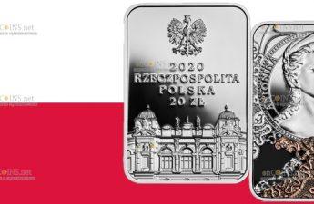 Польша монета 20 злотых Антонина Хоффманн