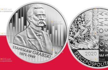 Польша выпускает монету 10 злотых Станислав Грабский