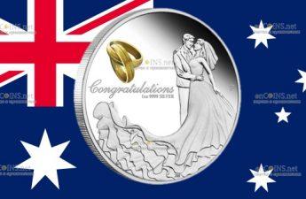 Австралия инвестиционный свадебный доллар 2021 года
