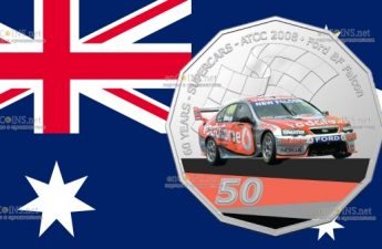 Австралия монета 50 центов Ford BF Falcon