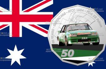 Австралия монета 50 центов Ford XE Falcon