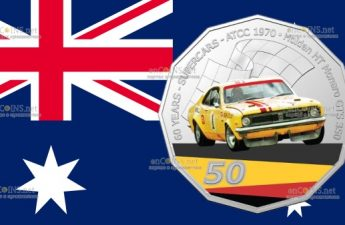 Австралия монета 50 центов Holden Monaro GTS 350