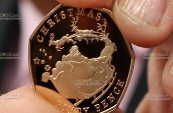 Гибралтар монет Рождество 2020 года