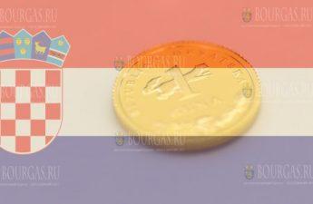 Хорватия монета 1 куна, золото, 2020 год