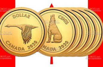 Канада отчеканила набор золотых монет в честь медалиста Алекса Колвилла