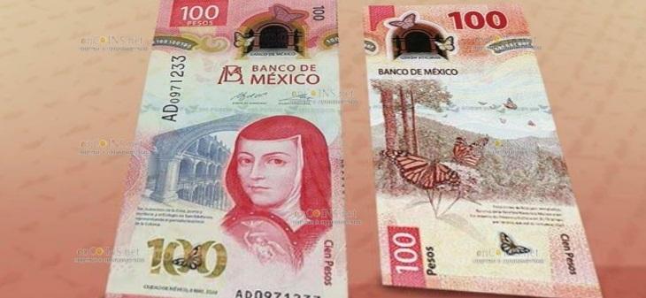 Мексика банкнота 100 песо 2020 год