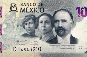 Мексика банкнота 1000 песо 2020 год, лицевая сторона