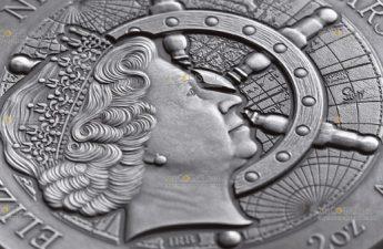 Ниуэ монета 5 долларов Титаник