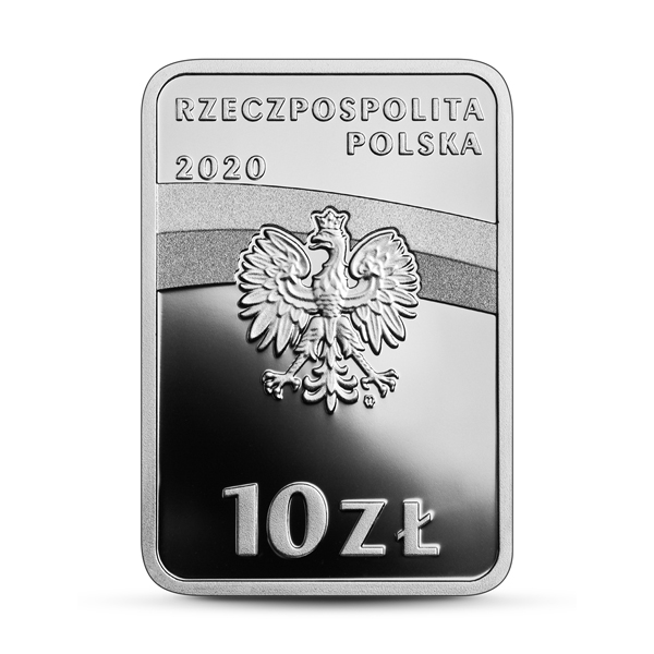 Польша монета 10 злотых Винценты Витос, аверс