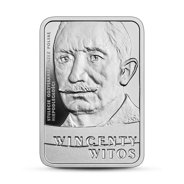 Польша монета 10 злотых Винценты Витос, реверс