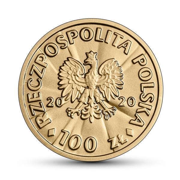 Польша монета 100 злотых Винцента Витос, аверс
