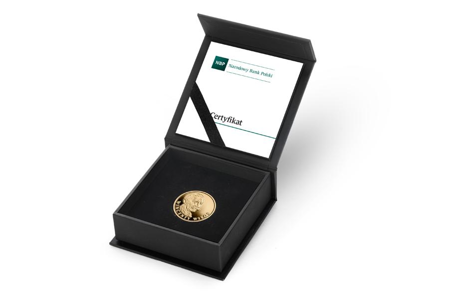 Польша монета 100 злотых Винцента Витос, подарочная упаковка