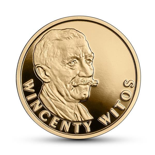 Польша монета 100 злотых Винцента Витос, реверс