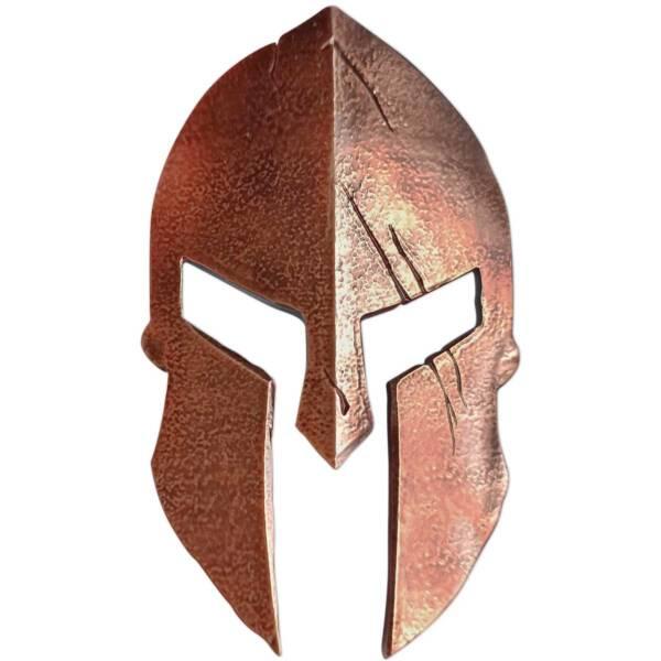 Соломоновы монета 10 долларов Шлем Спартанского Воина, реверс