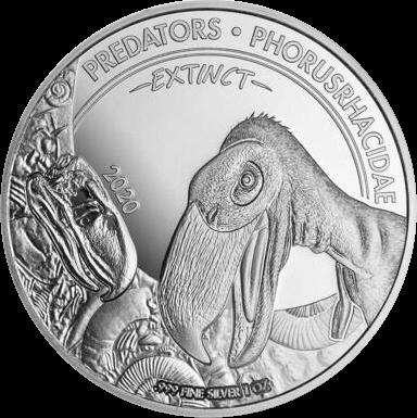 Конго монета 20 франков КФА Фороракосовые, реверс