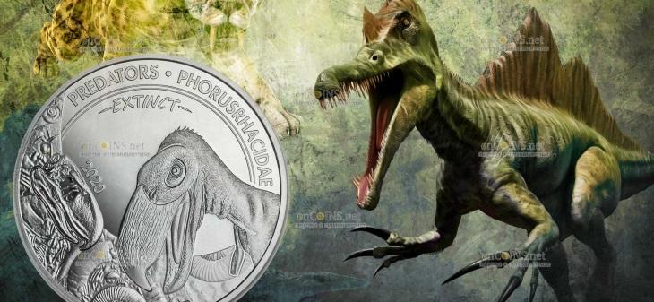 Конго монета 20 франков КФА Фороракосовые
