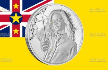 Ниуэ монета 2 доллара Гермиона