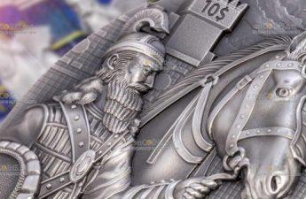 Палау монета 10 долларов Вавилон