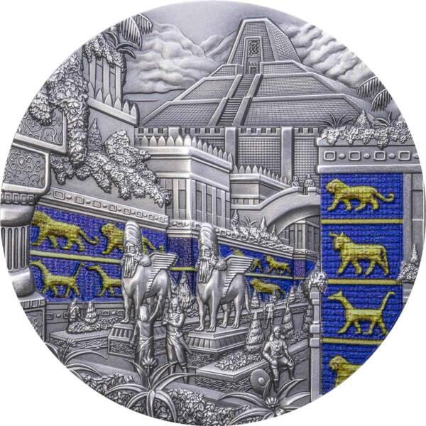 Палау монета 10 долларов Вавилон, реверс