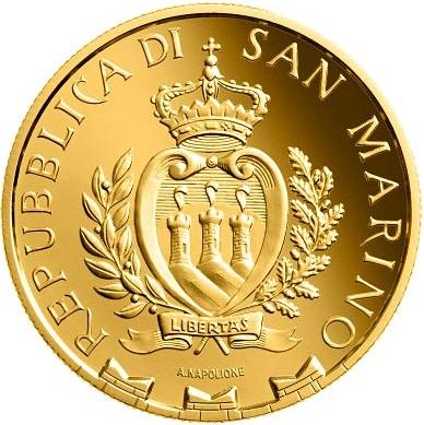 Сан-Марино монета 20 евро 2020 года, аверс
