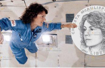 США 1 доллар Криста МакОлифф