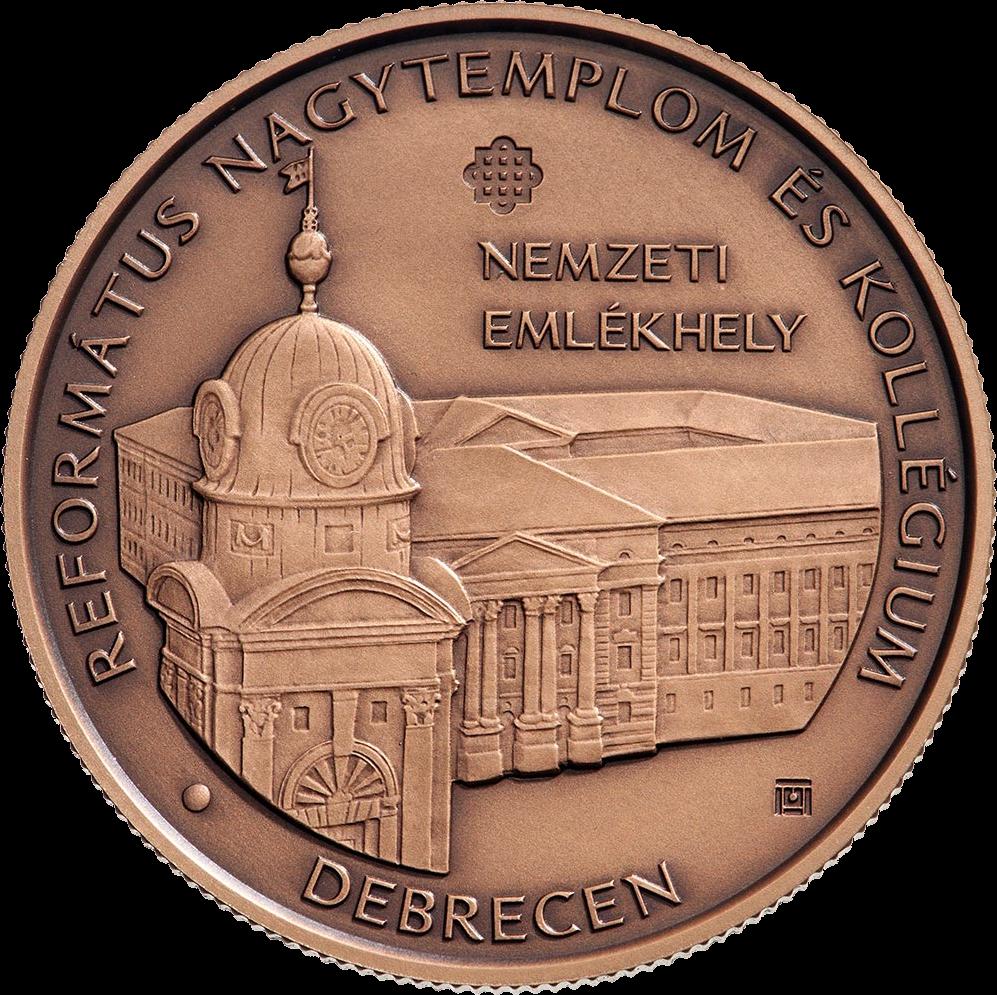 Венгрия монета 2000 форинтов Великая реформатская церковь и колледж Дебрецена, реверс