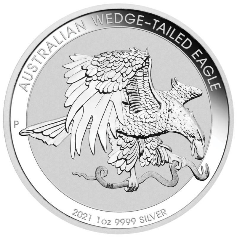 Австралия монета 1 доллар Австралийский клинохвостый орел, реверс
