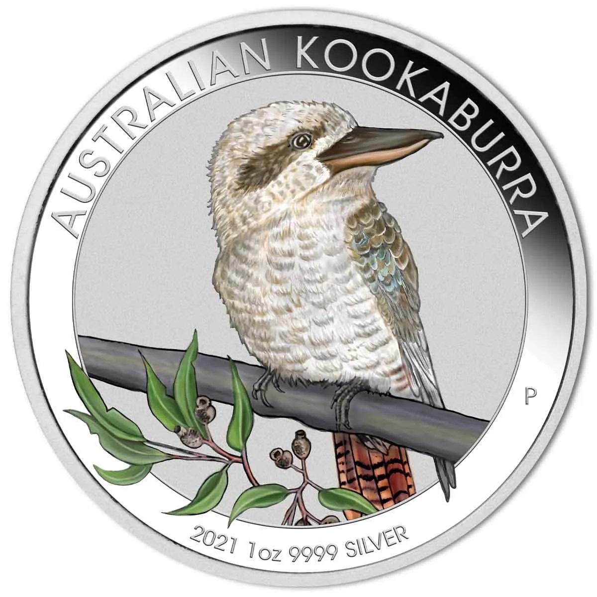 Австралия монета 1 доллар кукабара, реверс