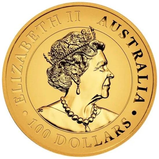 Австралия монета 100 долларов Австралийский клинохвостый орел, аверс