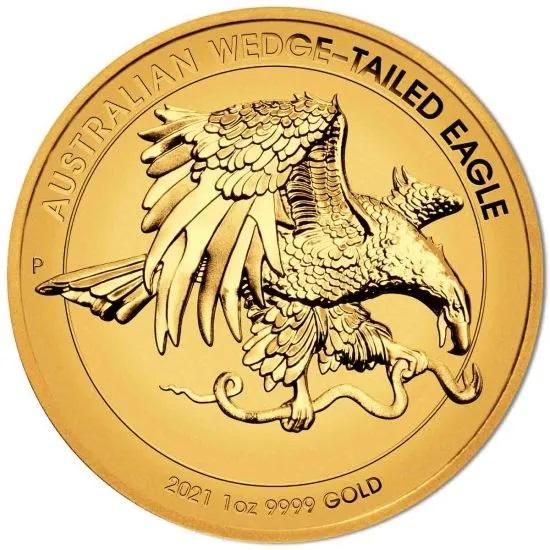 Австралия монета 100 долларов Австралийский клинохвостый орел, реверс