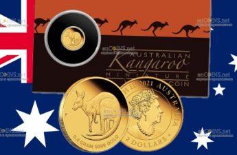 Австралия монета 2 доллара Кенгуру