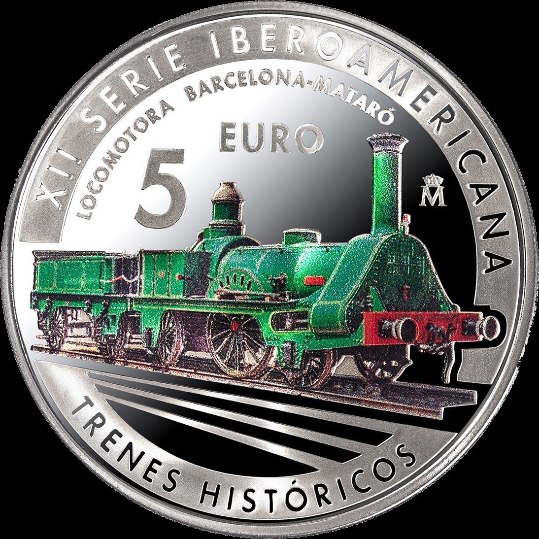 Испания монета 5 евро 12-я иберо-американская серия, реверс
