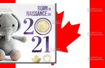 Канада монета 1 доллар Детская монета