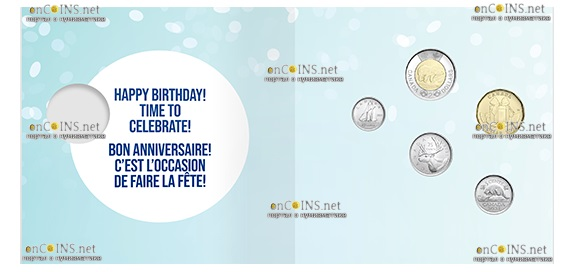 Канада монета 1 доллар Подарочная монета, подарочная упаковка