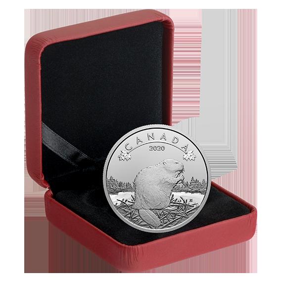 Канада монета 10 долларов Бобер, подарочная упаковка