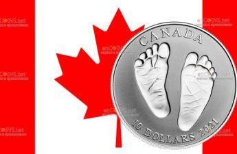 Канада монета 10 долларов Добро пожаловать в мир