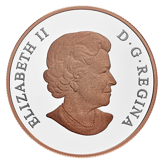 Канада монета 20 долларов Свадебная монета, аверс