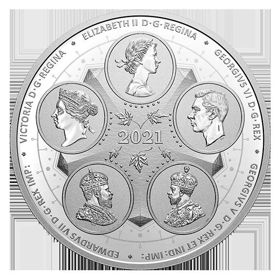 Канада монета 50 долларов Развивающаяся Страна, аверс